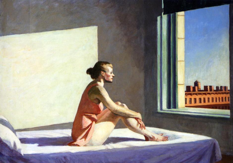 Edward Hopper: Morning Sun (1952)